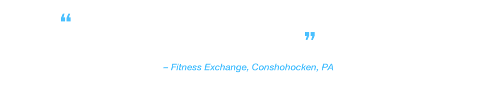 """""""Being able to hook up a cable box or other streaming device through the HDMI port is invaluable."""" Fitness Exchange, Conshohocken, PA"""