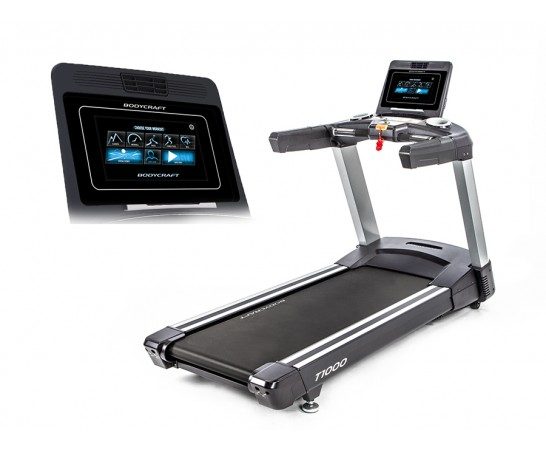 "T1000 10"" Touch Screen Treadmill"
