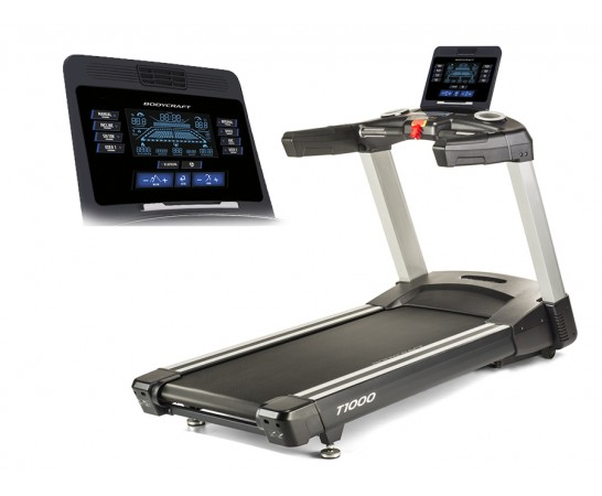 "T1000 9"" LCD Screen Treadmill"
