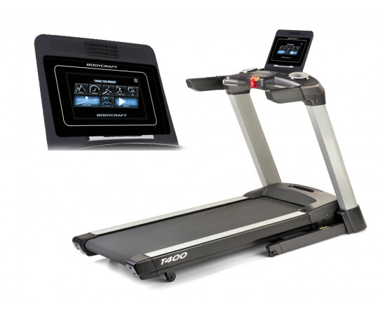 "T400 10"" Touch Screen Treadmill"