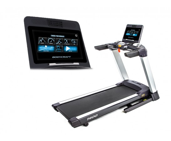 "T400 16"" Touch Screen Treadmill"