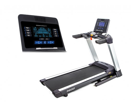 "T400 9"" LCD Screen Treadmill"