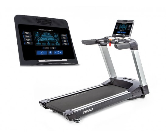 "T800 9"" LCD Screen Treadmill"